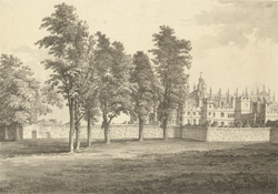 Eton College from the playground